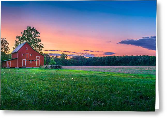 Old Barn Greeting Card by Paul Gretes