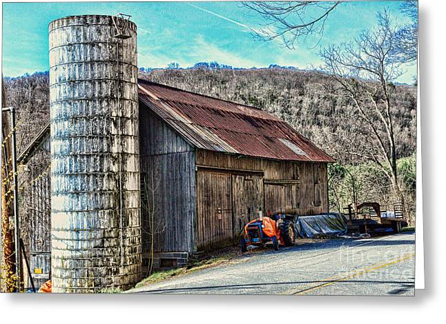 Old Barn Sussex County Nj Greeting Card