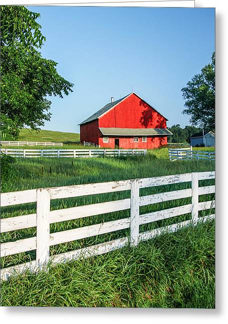 Old Barn Greeting Card by Todd Klassy