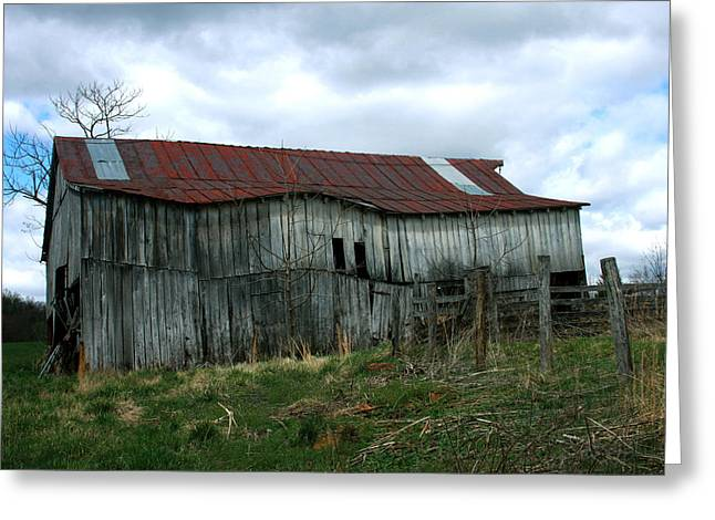 Old Barn Xiii Greeting Card