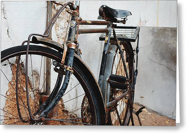 Old Bike II Greeting Card