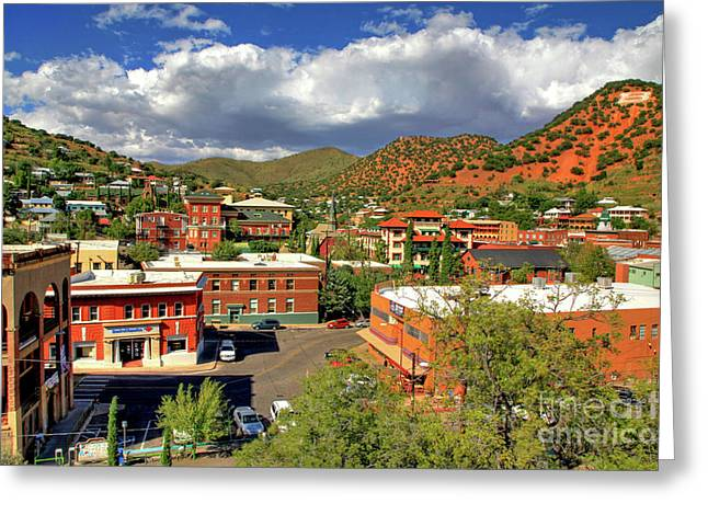 Old Bisbee Arizona Greeting Card