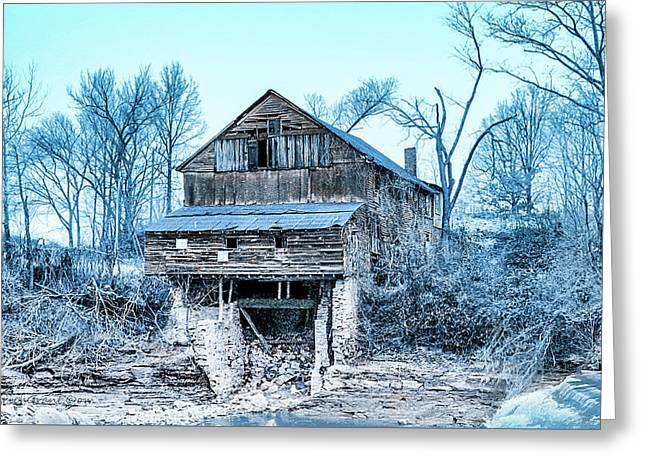 Old Blackiston Mill Greeting Card