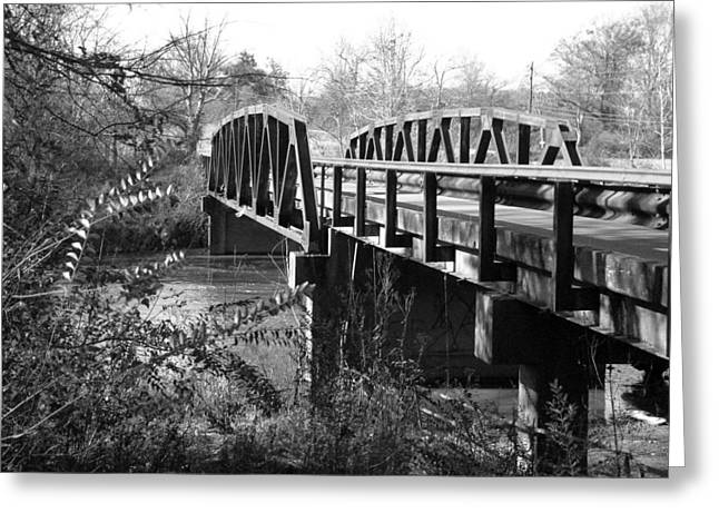 Old Bridge Greeting Card