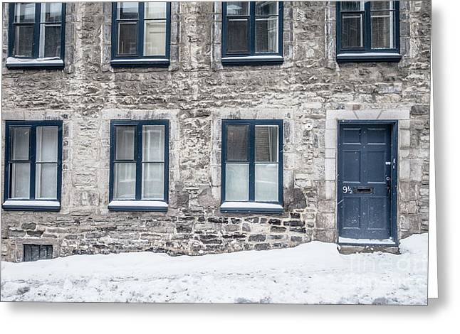 Old Building In Quebec City Greeting Card