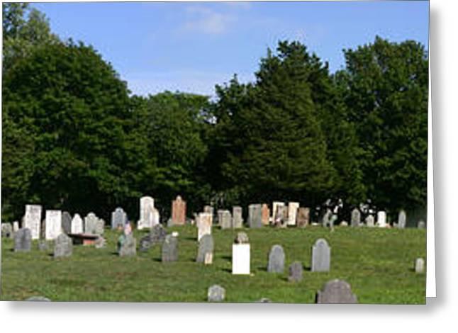 Old Burial Ground Greeting Card by Sam Smyth