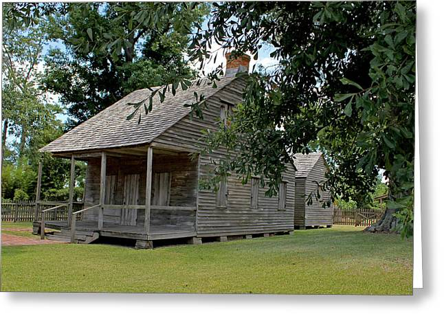 Greeting Card featuring the photograph Old Cajun Home by Judy Vincent