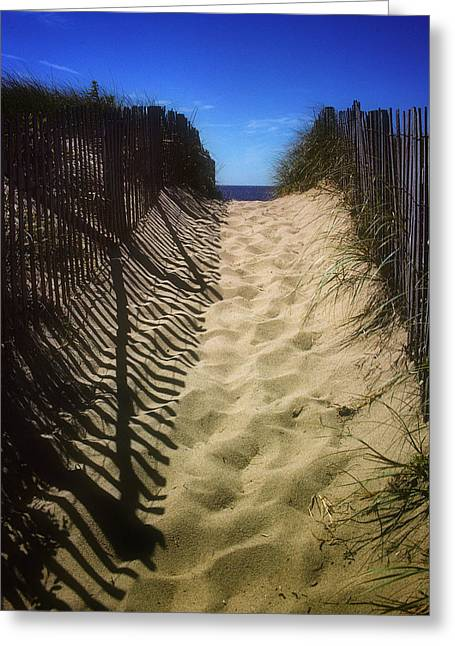 Old Cape Cod Greeting Card by Carol Kinkead