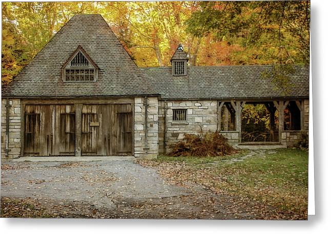Old Carriage House 2 Greeting Card