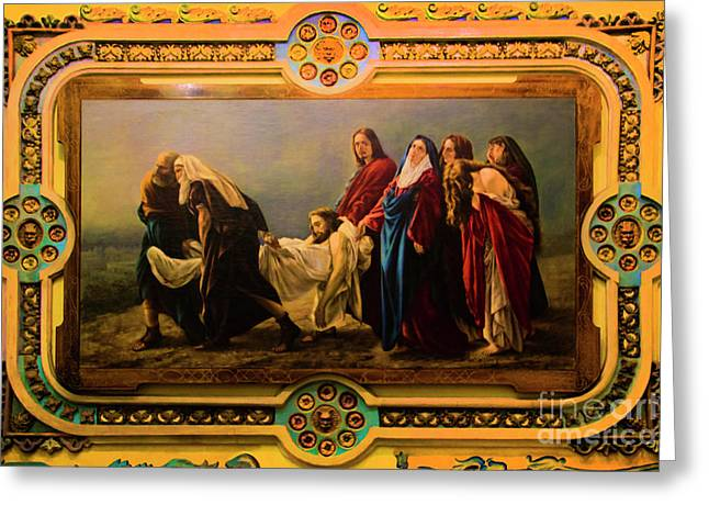 Old Cathedral Artwork Greeting Card