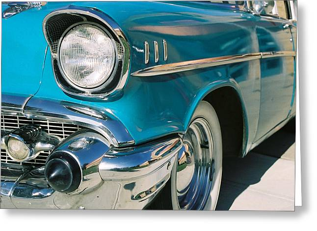 Greeting Card featuring the photograph Old Chevy by Steve Karol