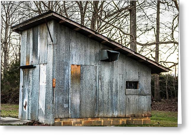 Old Chicken Coup Greeting Card by Cynthia Wolfe