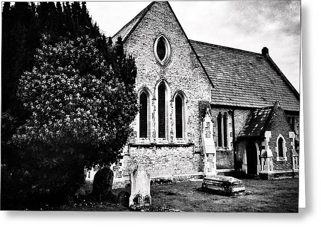 Old Church Greeting Card by Andrew Hunter