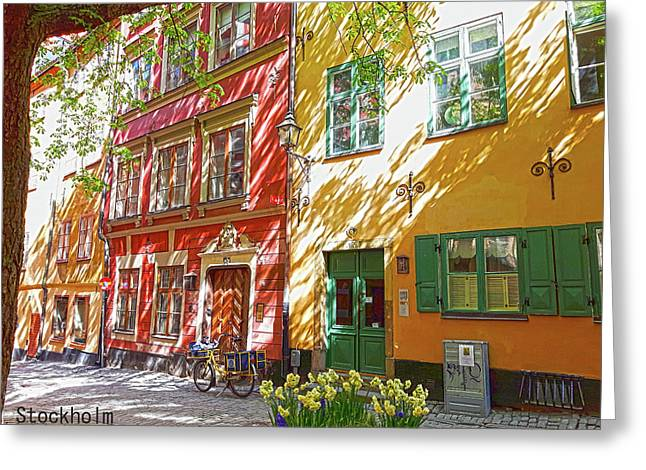 Old City Greeting Card