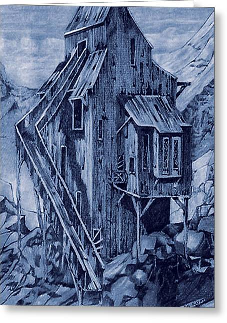 Old Colorado Mine Greeting Card by Donn Kay