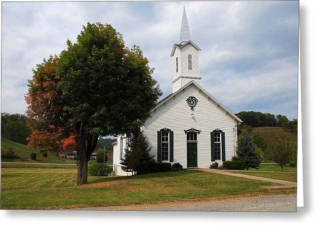 Greeting Card featuring the photograph Old Concord Church by Randy Bayne
