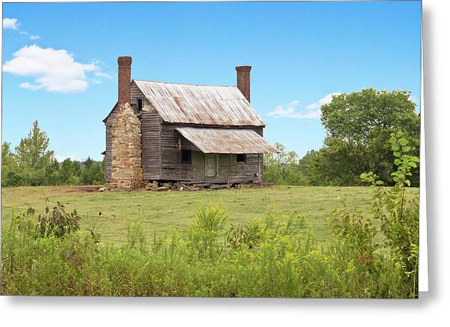 Old Country Farm House Greeting Card