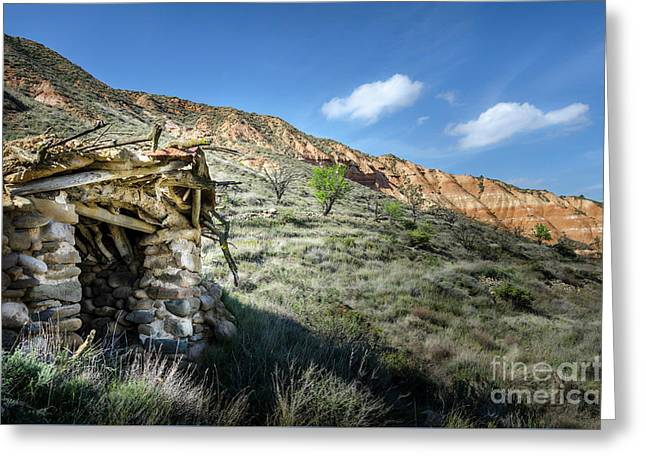 Old Country Hovel Greeting Card by RicardMN Photography