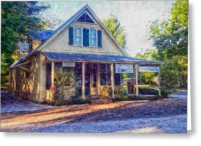 Old Country Store Greeting Card by Shane Adams