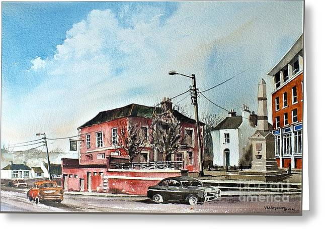 Old Courthouse Bray, Wicklow....vb733 Greeting Card