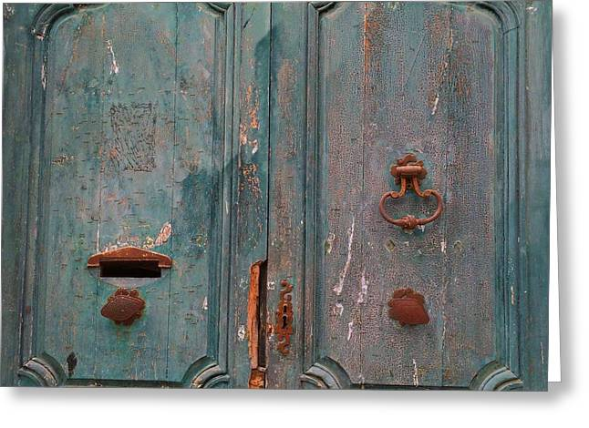 Old Entrance In Limoux Greeting Card by Dagmar Batyahav