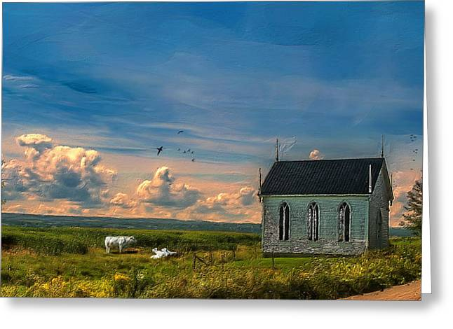 Old Evangeline Church Greeting Card