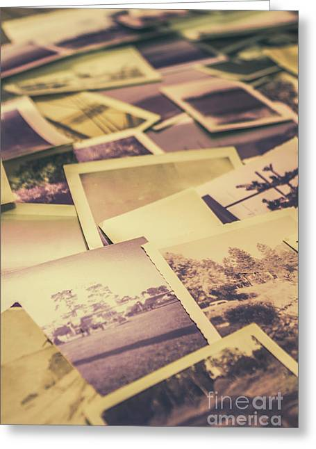 Old Faded Film Photography Greeting Card