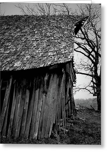 Old Farm 11 Greeting Card by Dennis Sullivan