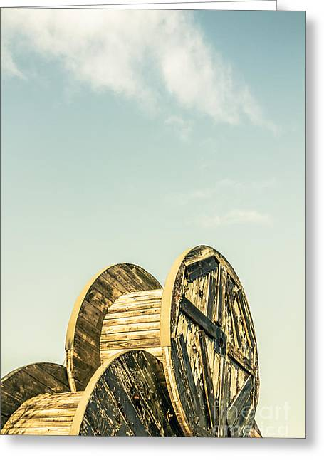 Old Farm Details Greeting Card by Jorgo Photography - Wall Art Gallery
