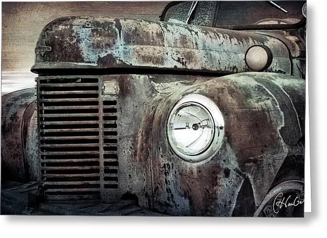 Old Farm Truck IIi Greeting Card by Christine Hauber