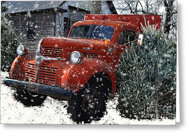Old Fashion Country Christmas  Greeting Card