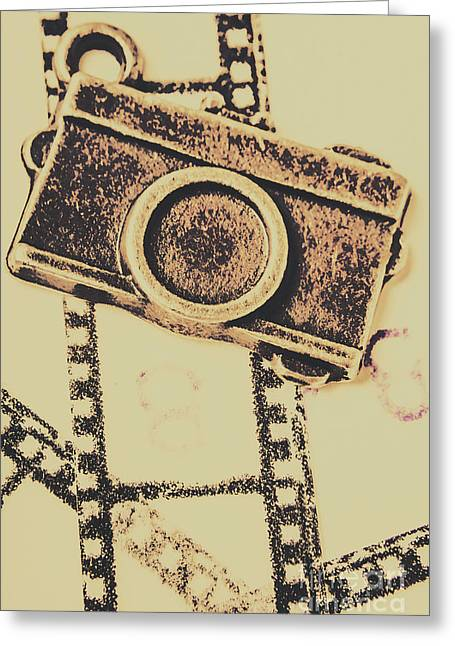 Old Film Camera Greeting Card