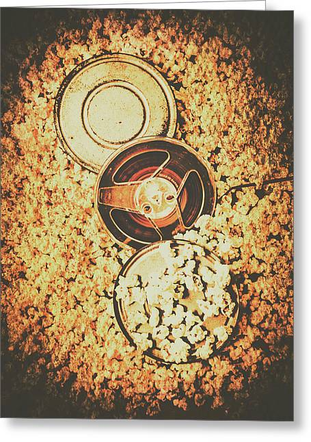 Old Film Festival Greeting Card by Jorgo Photography - Wall Art Gallery