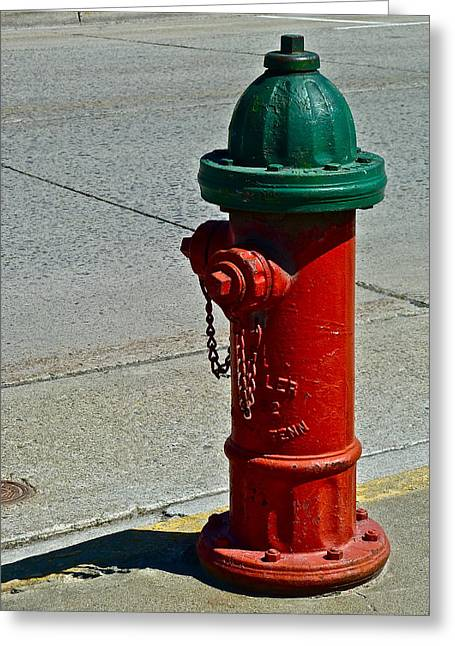 Old Fire Hydrant Greeting Card