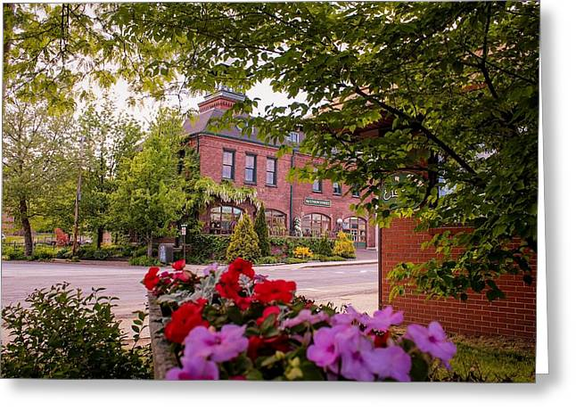Old Fire Station Easthampton, Ma Greeting Card