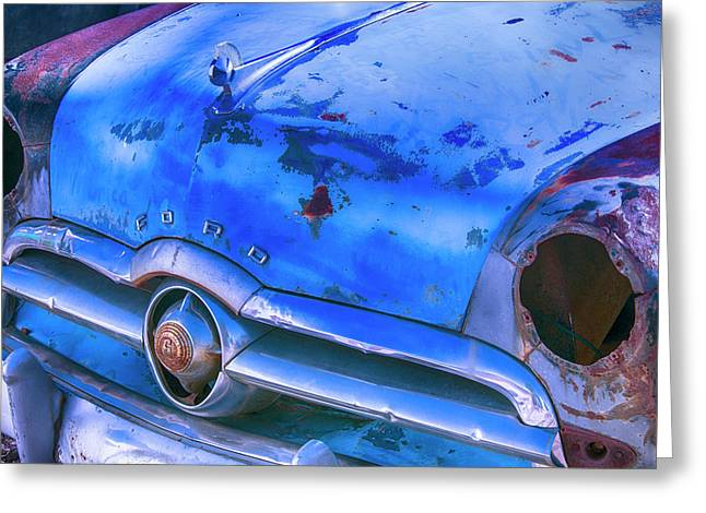 Old Ford Car Greeting Card