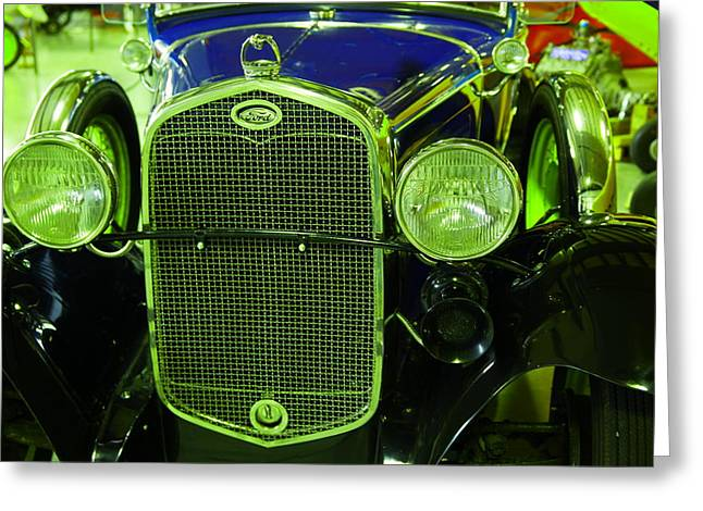 Old Ford Fully Restored Greeting Card by Jeff Swan