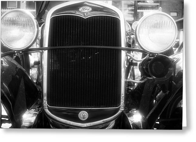 Old Ford Greeting Card by Rockstar Artworks