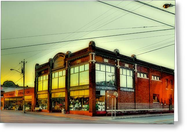 Old Forge Hardware In The Town Of Webb Greeting Card by David Patterson