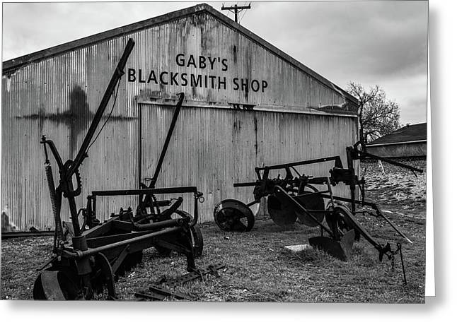 Old Frisco Blacksmith Shop Greeting Card