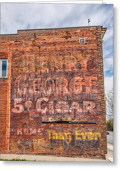 Old Ghost Sign Greeting Card by Paul Freidlund
