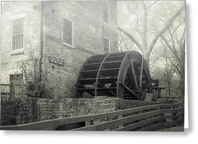 Old Graue Mill Greeting Card by Julie Palencia