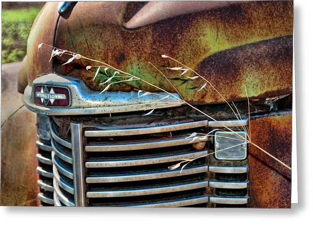 Old Grill Greeting Card