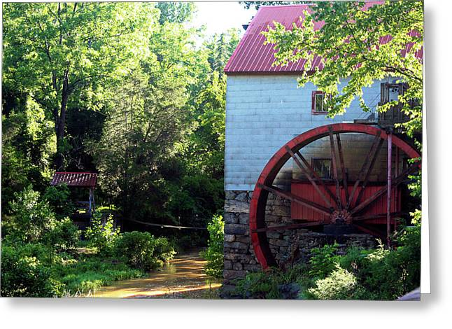 Old Guilford Mill Greeting Card