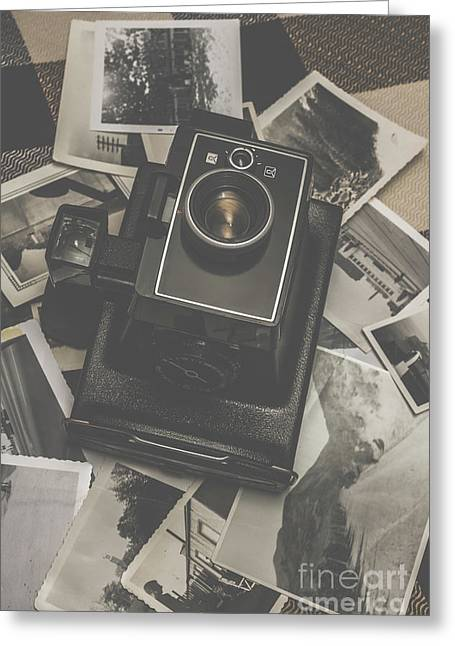 Old History Camera Greeting Card by Jorgo Photography - Wall Art Gallery