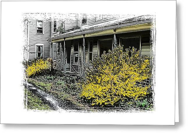 Old Homeplace Greeting Card by Robert Boyette