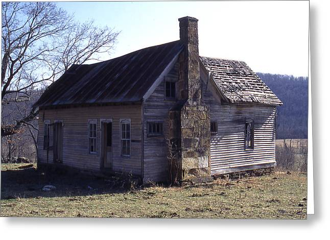Old House Greeting Card by Curtis J Neeley Jr