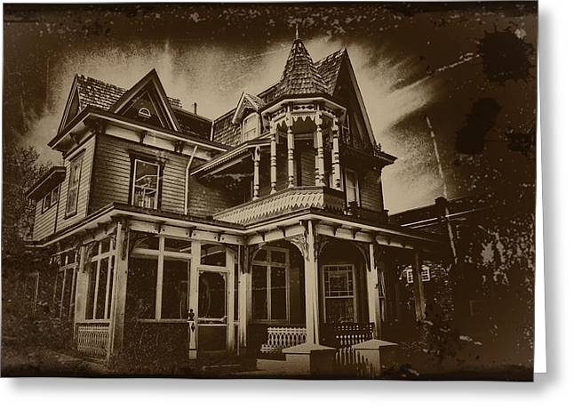 Old House In Cape May Greeting Card by Bill Cannon