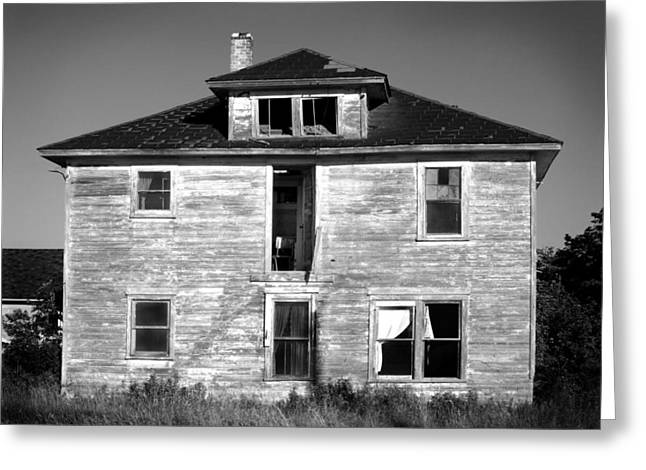 Old House On Stagecoach Road Greeting Card by Stephen Mack