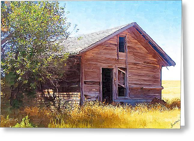 Greeting Card featuring the photograph Old House by Susan Kinney